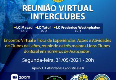 Reunião Virtual Interclubes