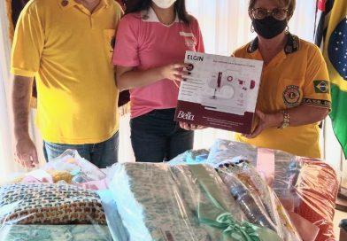 Governadora entrega Doações